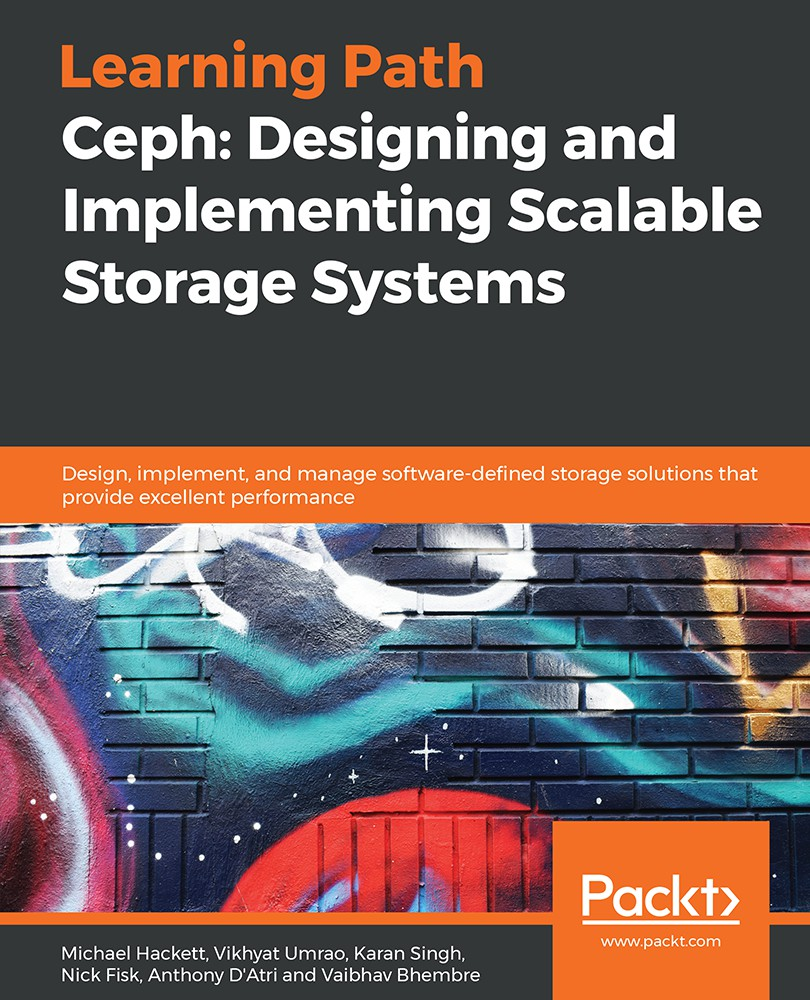 Mastering Ceph: Infrastructure storage solutions with the