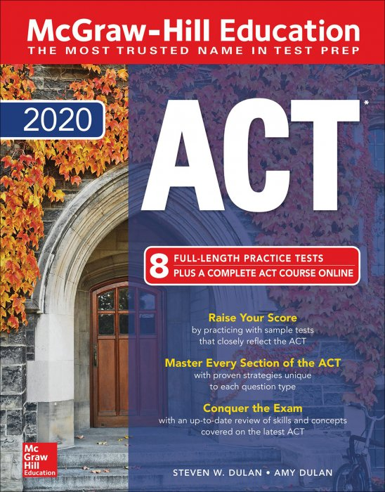 McGraw-Hill ACT 2020 edition » Free books EPUB TruePDF AZW3 PDF